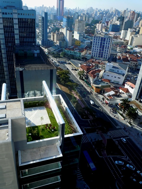SkyGarden Telhados verdes - telhado ecológico - construção sustentável